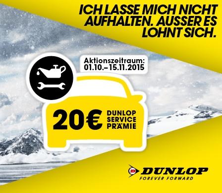 Dunlop Winteraktion 2015