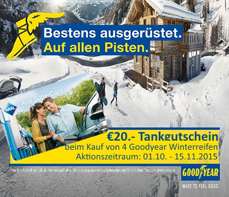 Goodyear Winteraktion 2015