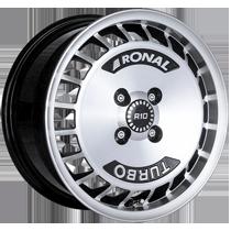 Ronal R10 7.0x15 schwarz frontkopiert